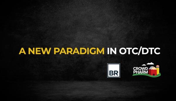 CrowdPharm Announces Partnership With Consumer Agency Bernstein-Rein banner