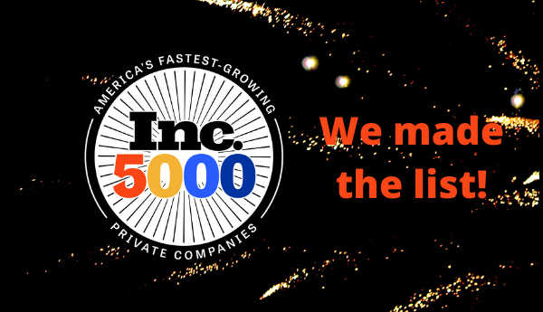 CrowdPharm Named To Inc. 5000 2021 List Of Fastest-Growing Companies banner
